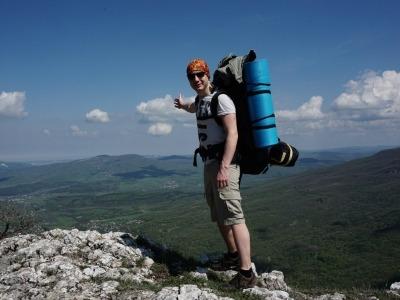 туристический поход в горы Крыма