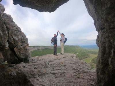 туристический поход по Крыму