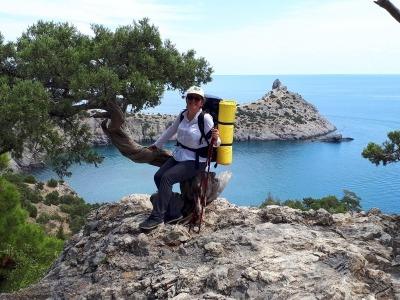 поход с рюкзаками по Крыму летом